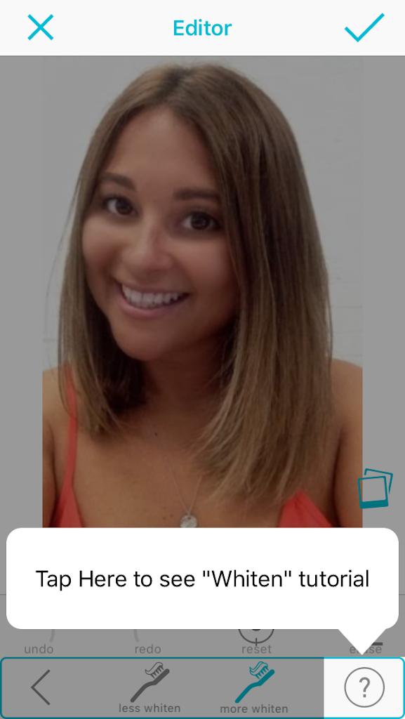 Teeth Whitening – Selfie Editor for iPhone/iPad