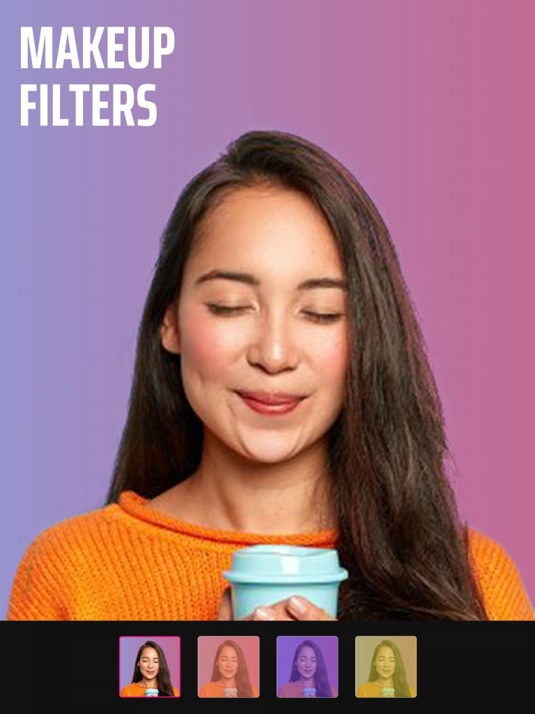 Photo filters with Selfie Editor app